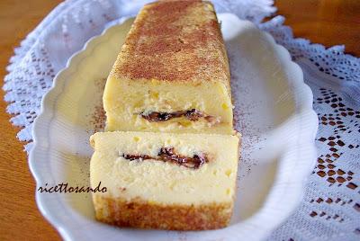 Sformatino di ricotta cuore morbido  di cioccolato ricetta  torta dolce