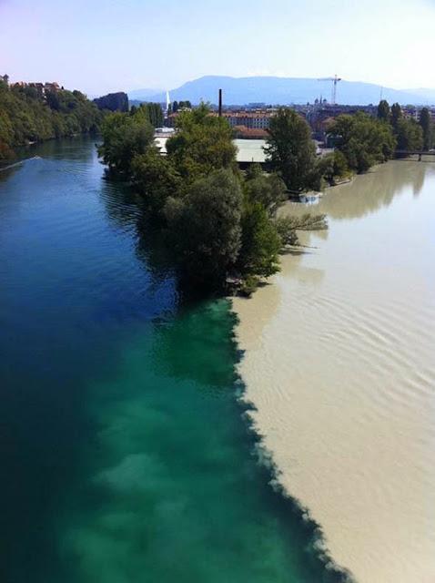 confluencias de rios colision