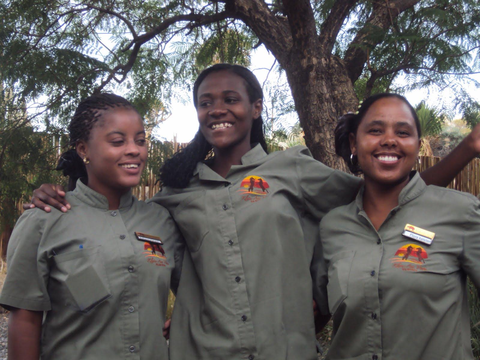 Namibian girls