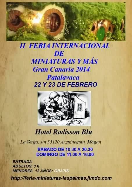 II Feria Internacional de Miniaturas y Más