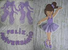 Painel Bailarina 72 cm