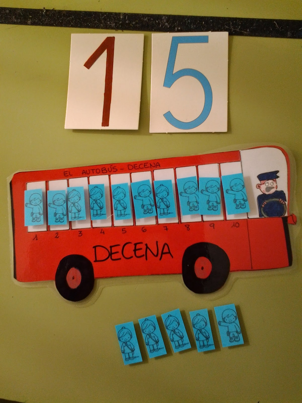 hago y comprendo: El autobús \