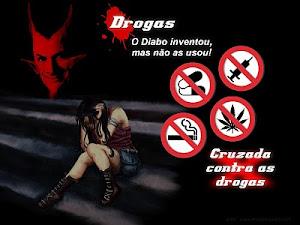 DROGAS MATA, FIQUE LONGE DELA