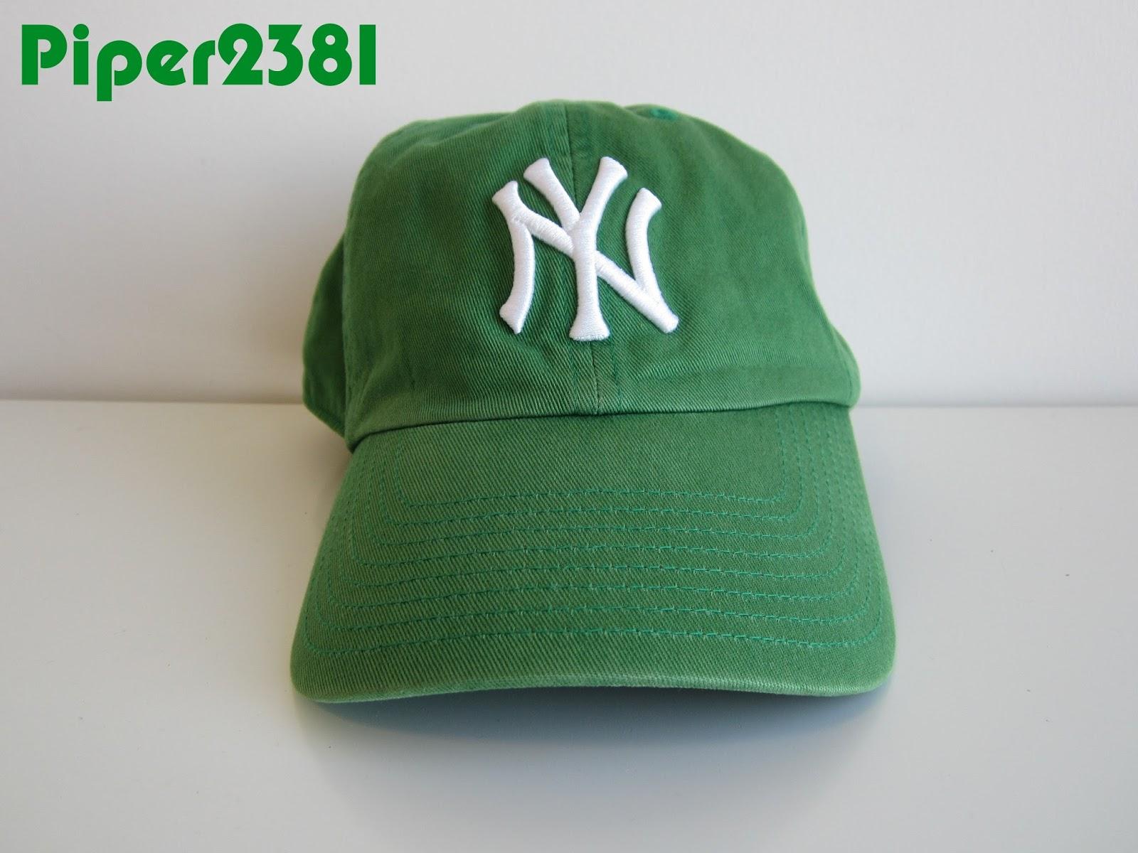 piper2381 st patrick u0027s day kelly green yankees hat