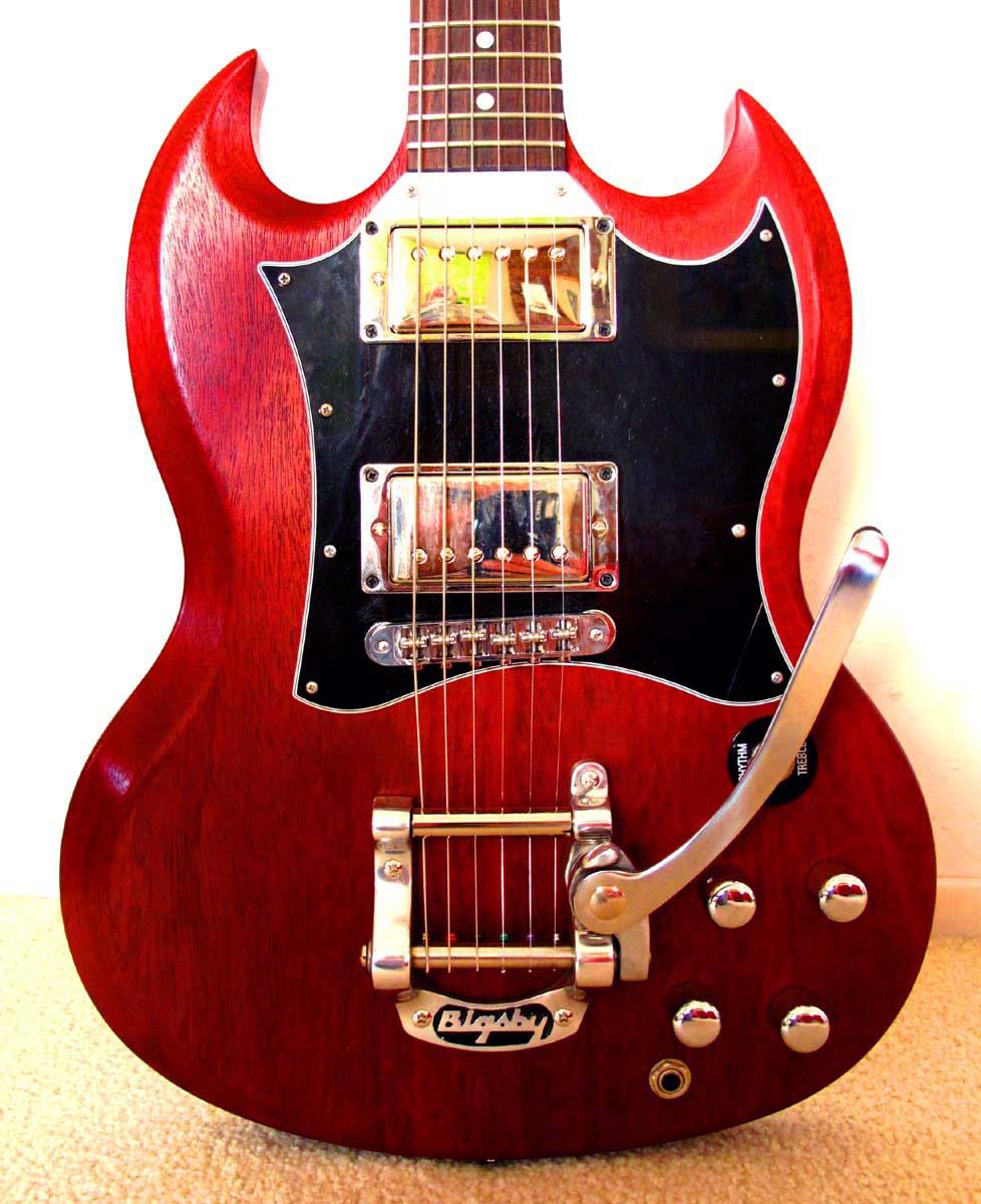 Varsity Strings Hotrodding My Gibson Sg Part 2
