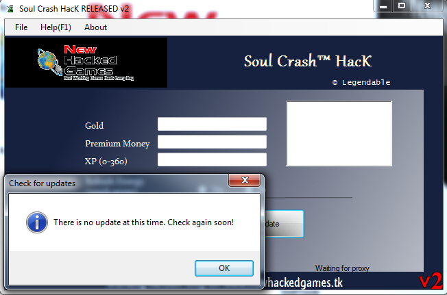 soul crash cheat tool