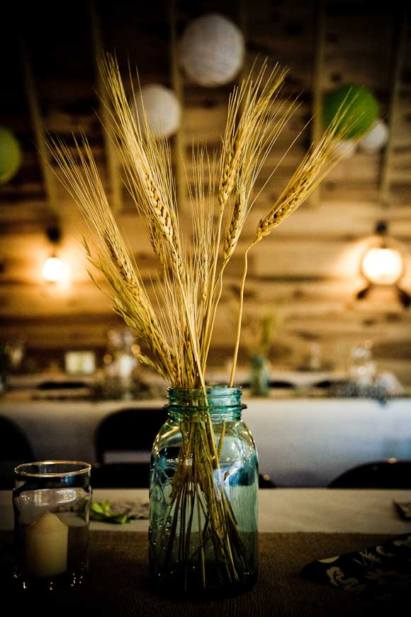 Violet hills weddings events mason jar centerpieces