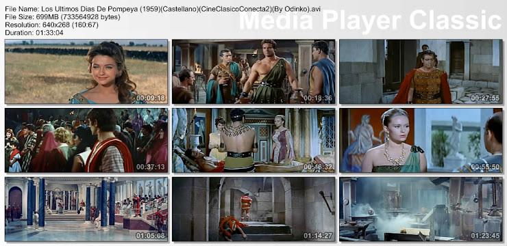 Los últimos días de Pompeya (1959) | Capturas de pantalla
