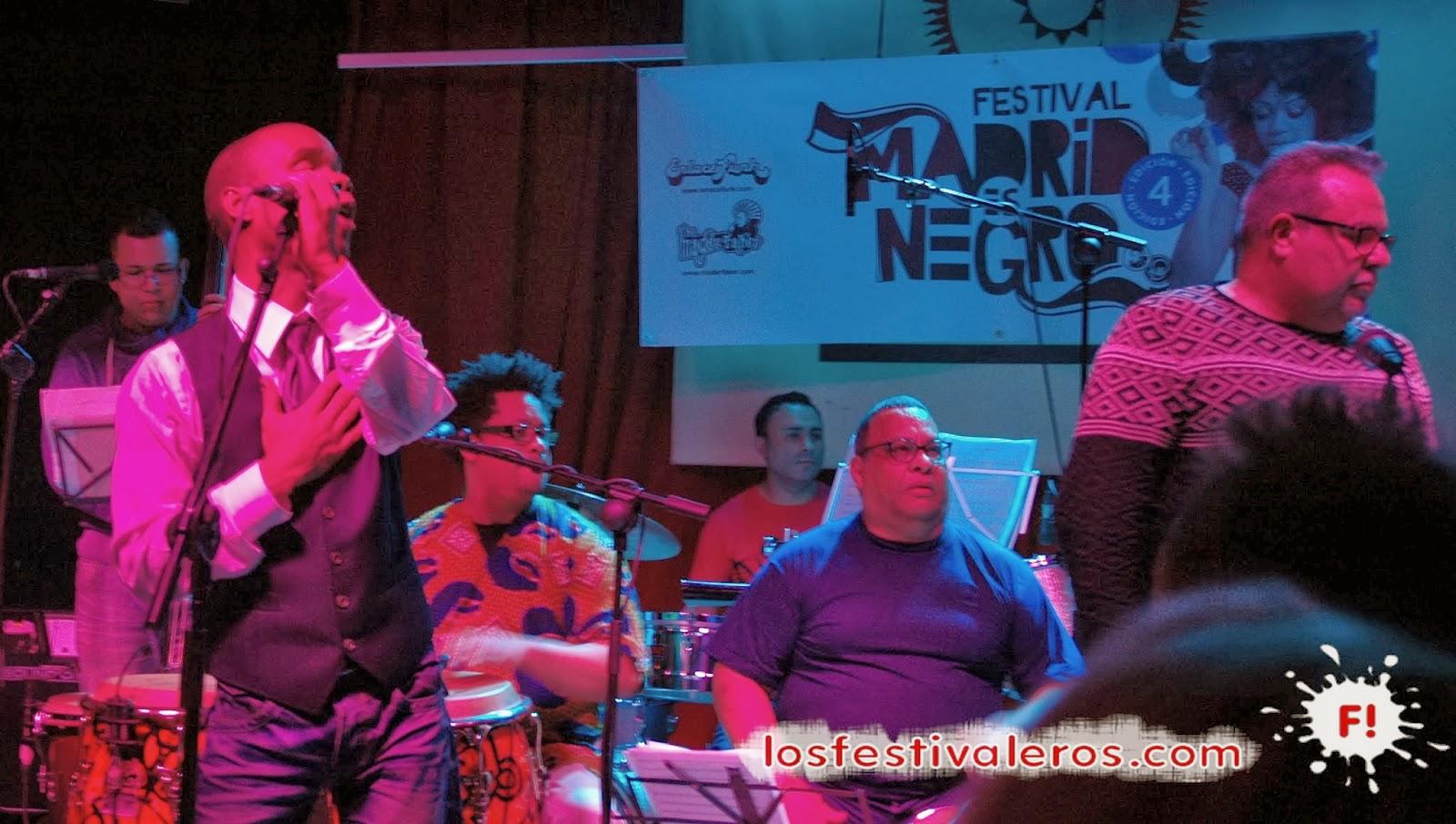 Orquesta del Solar, Festival, Madrid es Negro, Sala El Sol, Concierto, Directo,