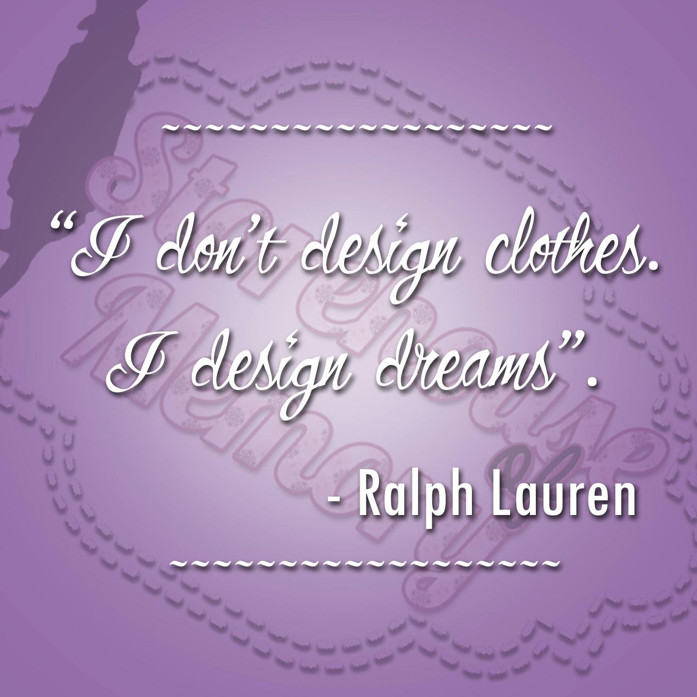 Ralph Lauren Quotes. QuotesGram