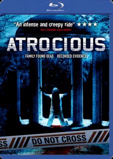 Carátula Atrocious película brrip latino 2010
