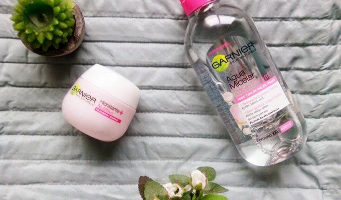 Minimalist Skin Care Routine   Garnier Micellar Water and Garnier Moisturizer