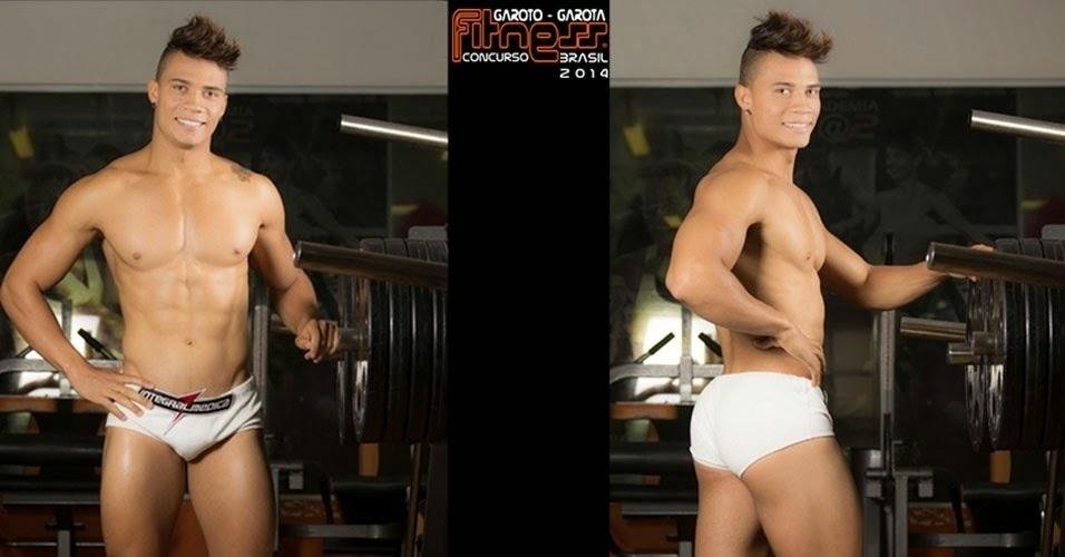 Eduardo Star participou do concurso Garoto e Garota Fitness Brasil 2014. Foto: John Edgard/Fitness Model Agency