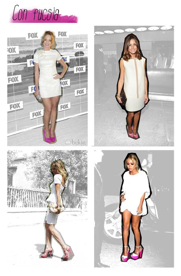 combinar vestidos blancos graduación comunión  hermanas bolena