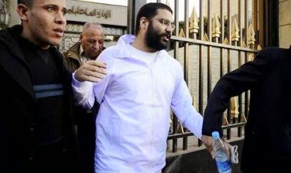 محكمة جنايات القاهرة تصدر حكمًا غيابيًا بحبس علاء عبدالفتاح وآخرين، 15 عامًا