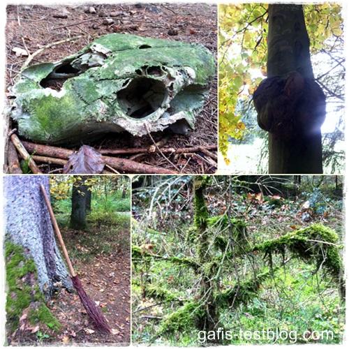 Gruslen im Wald