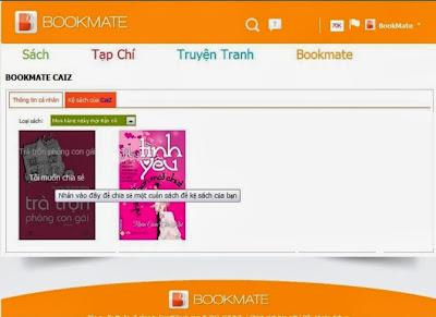 Ứng dụng đọc sách Bookmate khá toàn diện khi cập nhật rất nhiều đầu sách hot của các thể loại