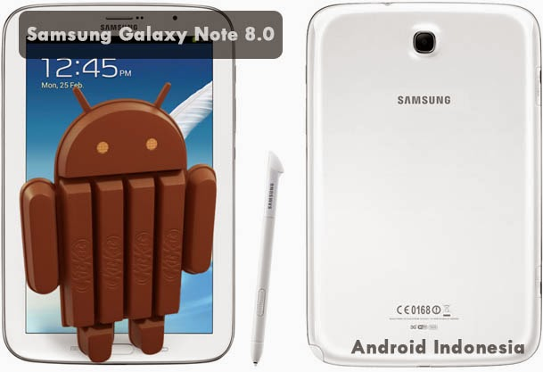 Samsung Galaxy Note 8 Kitkat