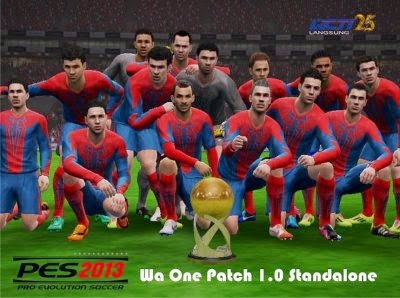 Download Patch PES 2013 dari Wa One 1.0