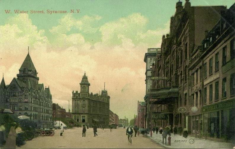 Climbing My Family Tree: Syracuse NY mid-1800's, post card