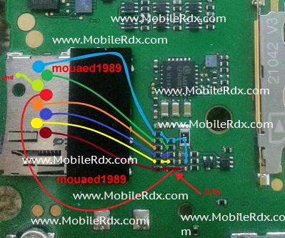 Nokia Asha 200 memory card corrupted MMC Track Wasy Jumper