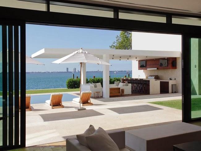 Casas minimalistas y modernas quinchos modernos i - Moderne lounges fotos ...