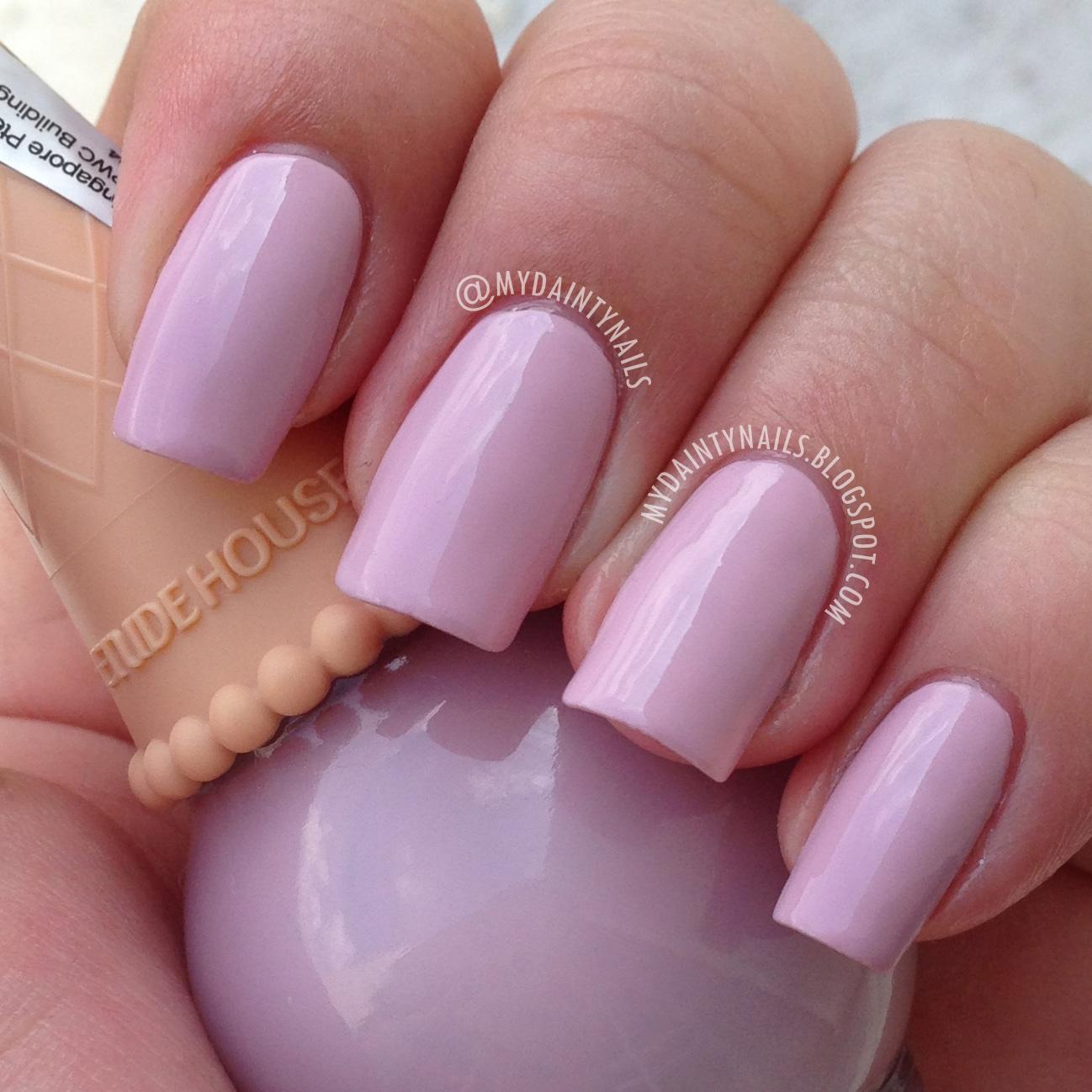 My Dainty Nails: Etude House Ice Cream Nail Polish Review