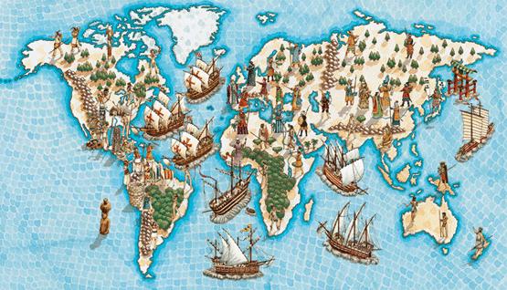 ... Consecuencias de los viajes de descubrimientos de los siglos XV y XVI
