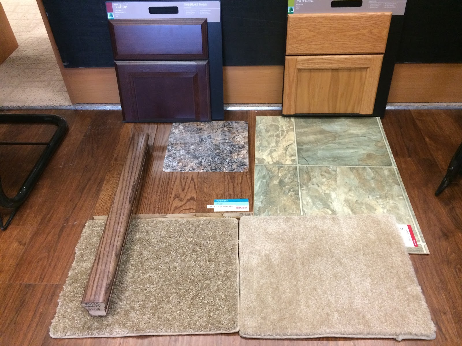 Ryan Homes Milan: New Home Construction Experience: Flooring ...