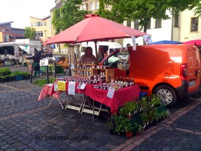 Merseburg Blumenmarkt