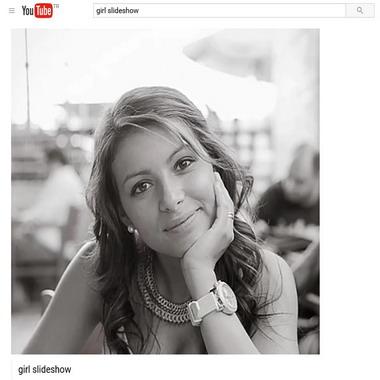 youtube com - girl slideshow