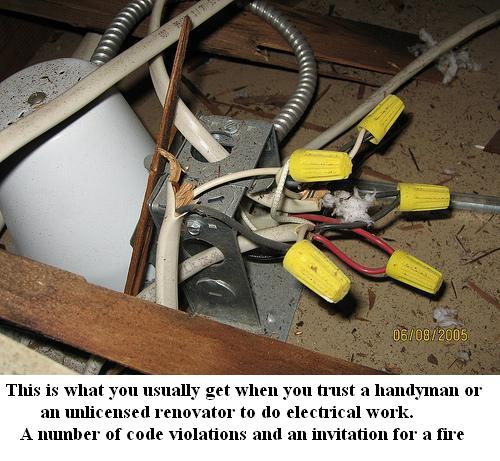 how to tell if an electrician is licensed
