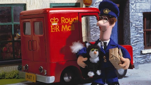 Postman Pat, Jess, black and white cat