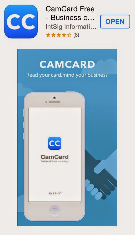 Tech probes bizzcard is a free iphone app but is not for managing business cards but rather for giving people your electronic card through e mail reheart Images