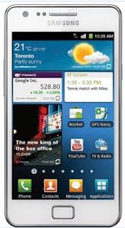 Samsung Galaxy S II,SaskTel,Android 4.0 ICS,Galaxy S II update,Ice Cream Sandwich