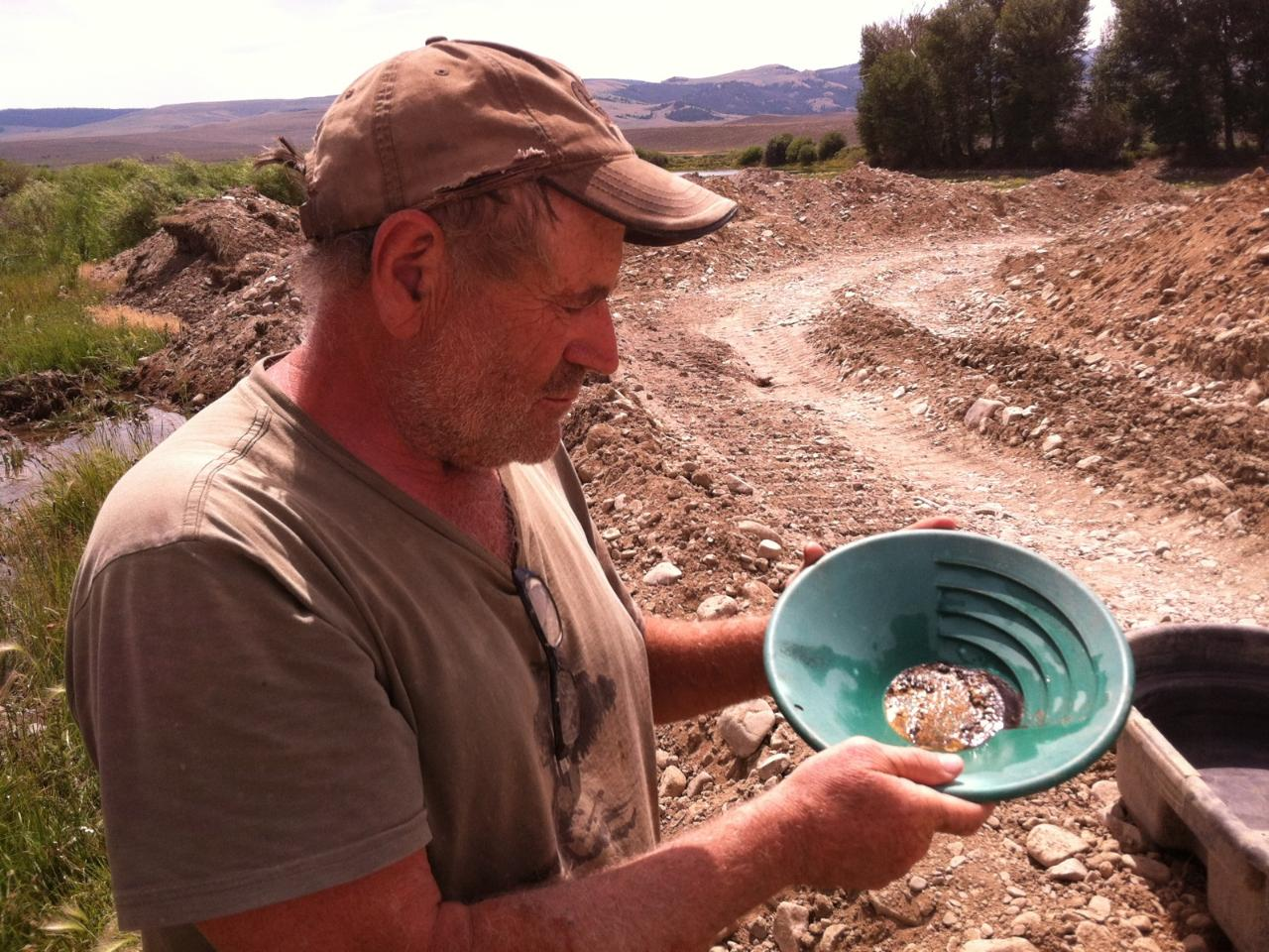 Gold mining adventures in Montana