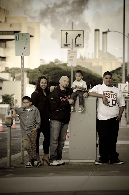 Photograph - Honolulu - Family Portrait