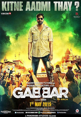Gabar is Back 2015 Hindi DVDScr 700mb DDR