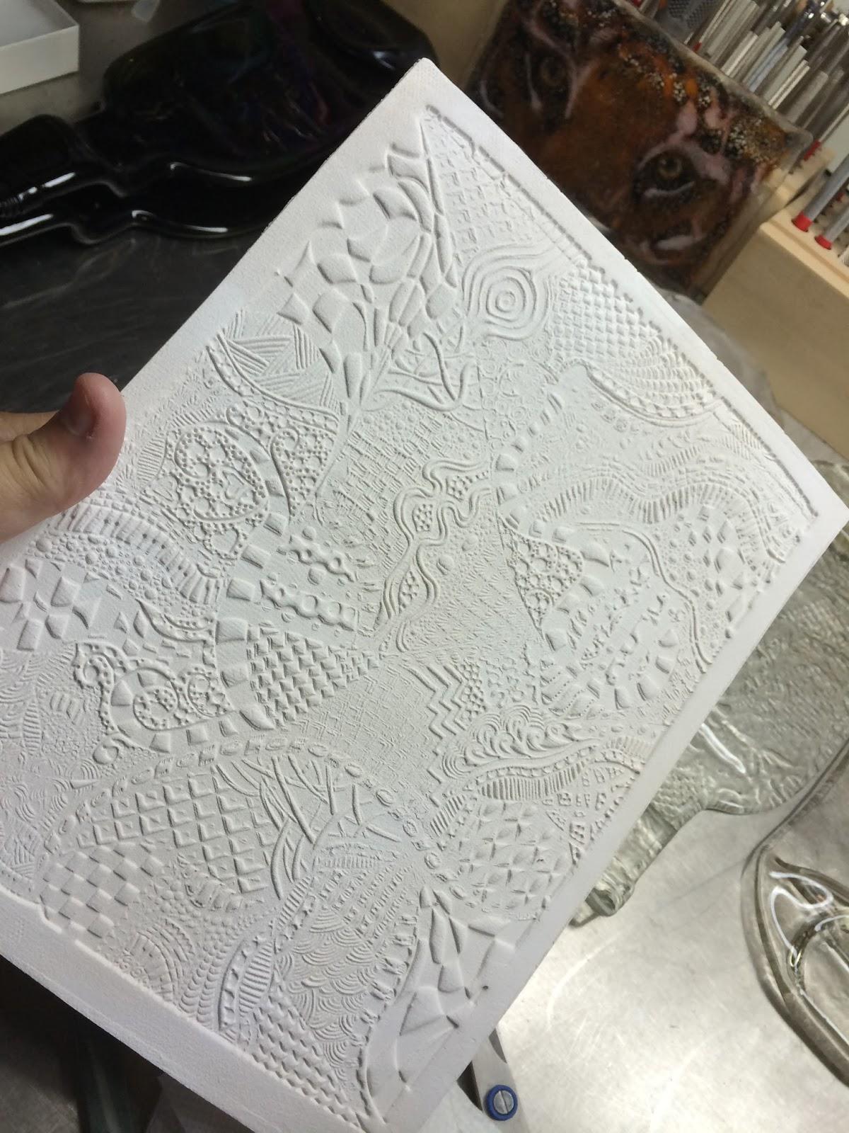 Deborhread september 2015 making a ceramic tile for slumping dailygadgetfo Choice Image