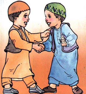 Gambar Kartun Islami Lucu