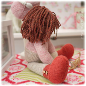 ♡ Doll making in the workroom.....