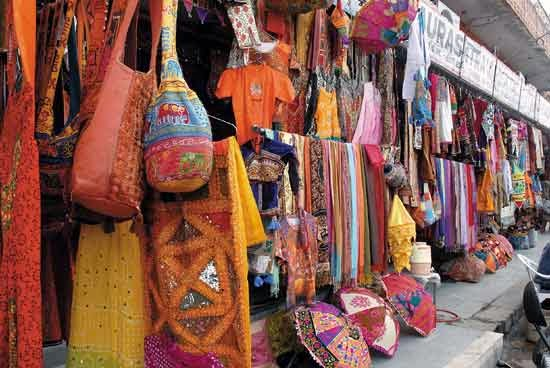 Street shopping- Commercial Street Bangalore