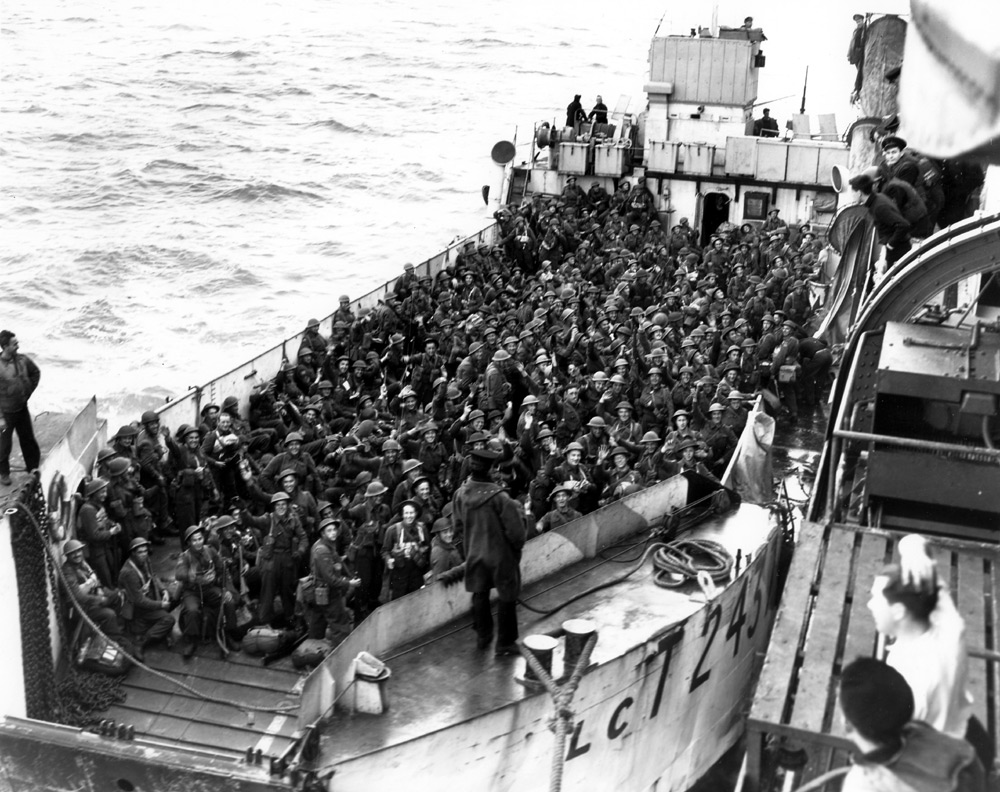 D Day Invasion Boats Historical Photos: WW2...