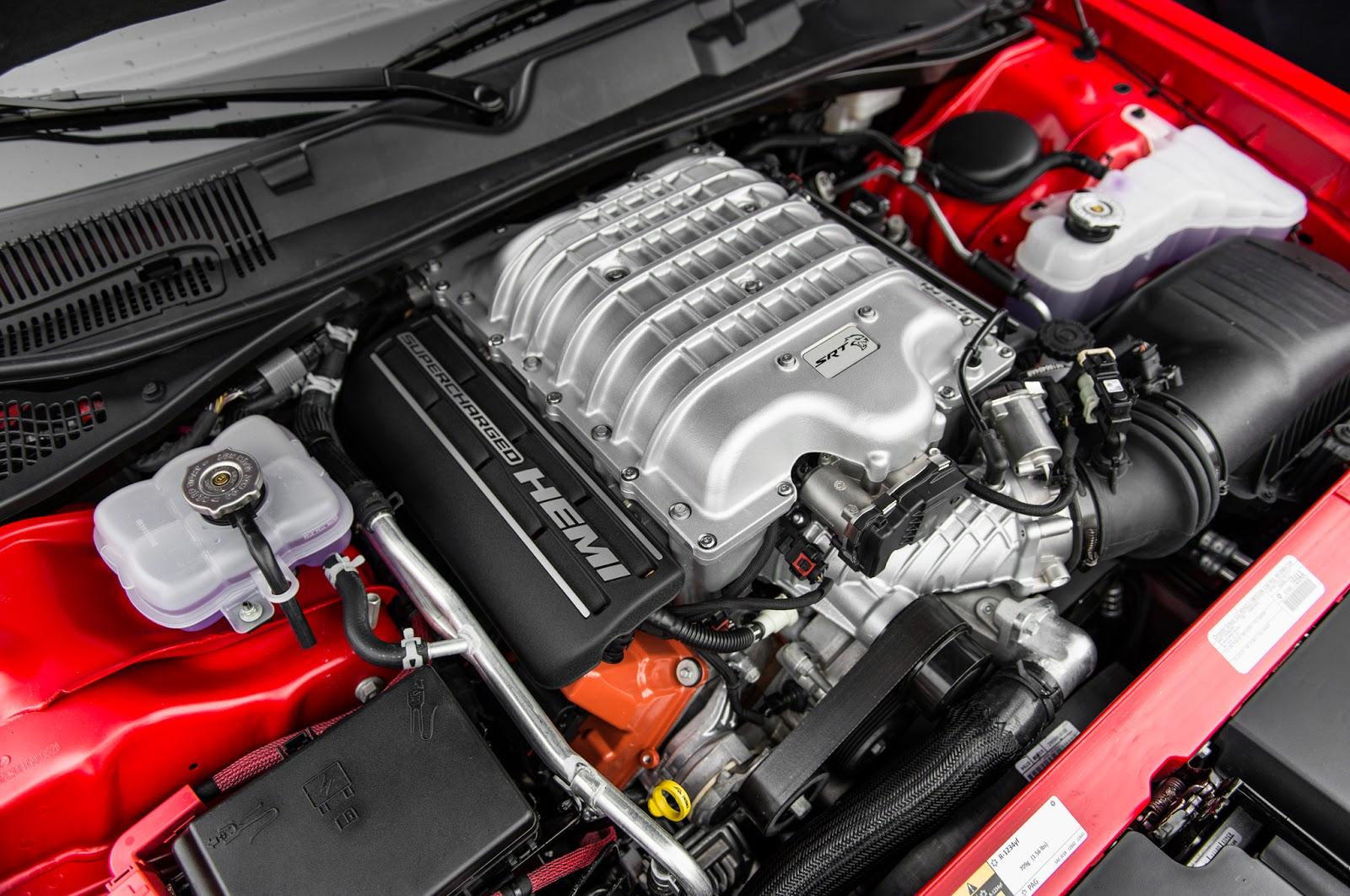 2016 Dodge Barracuda Engine