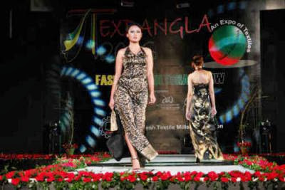 Bangladeshi fashion show picture