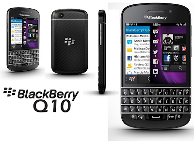 BLACKBERRY Q10 FULL SPECIFICATIONS