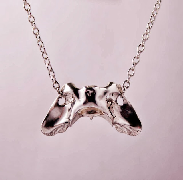 Sacrum Elevate Mink Vertebrae Necklace