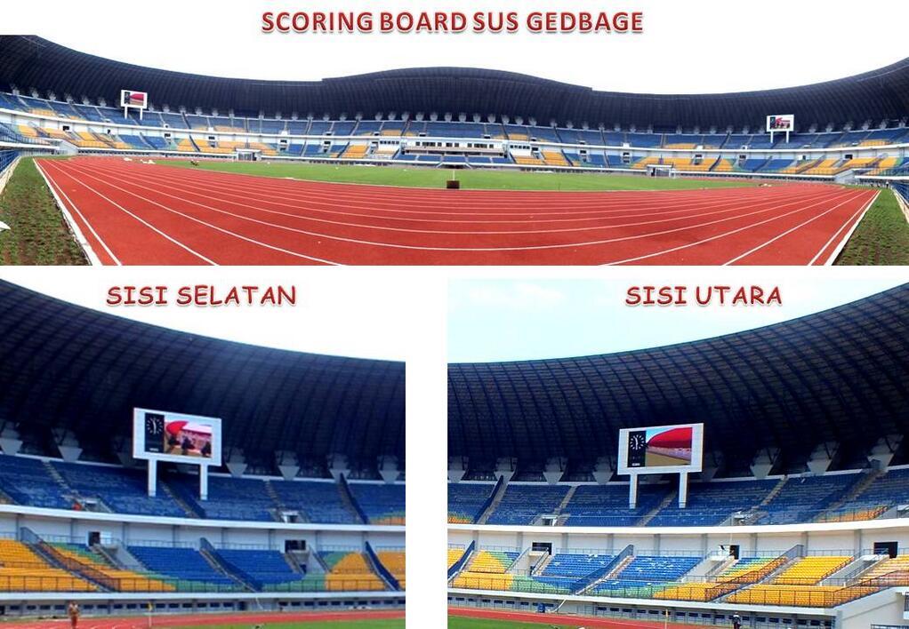board sponsor untuk stadion gbla persib bandung klub pertama di isl ...