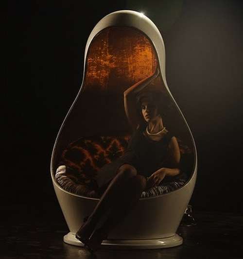 Matreshka LED Lighting Chair