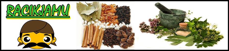 Racikan jamu tradisional alami